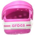 Kroksy CROCS-Crocband elektrický růžový / bílý -