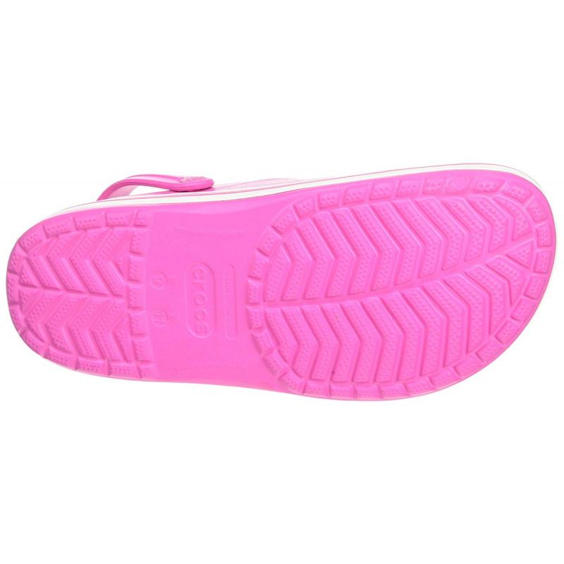 Kroksy (rekreačná obuv) CROCS-Crocband electric pink/white -
