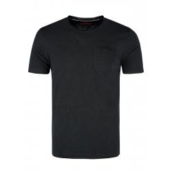 Pánské triko s krátkým rukávem VOLCANO-T-JAGIER-BLACK