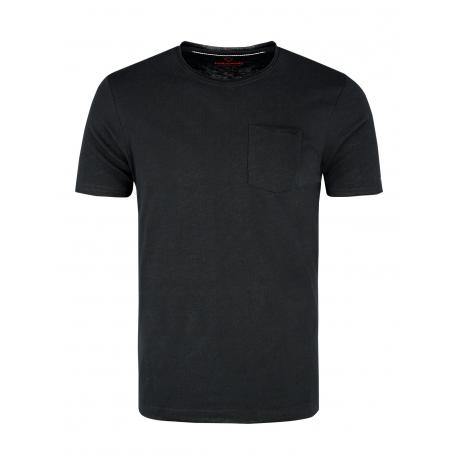 Pánske tričko s krátkym rukávom VOLCANO-T-JAGIER-BLACK
