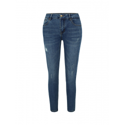 Dámské riflové kalhoty PATROL-D-MERCY 2-BLUE
