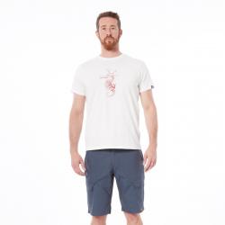 Pánske turistické tričko s krátkym rukávom NORTHFINDER-VIJANITO-white