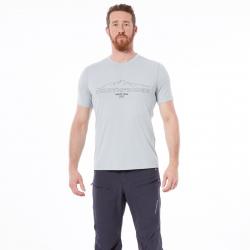 Pánske turistické tričko s krátkym rukávom NORTHFINDER-TOHTY-stone