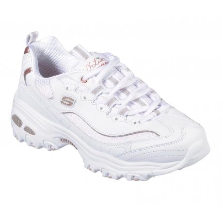 Dámská rekreační obuv SKECHERS-D LITES COPPER DIVINE WTRG