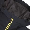 Dámska turistická softshellová bunda NORTHFINDER-RONDA-blackyellow -