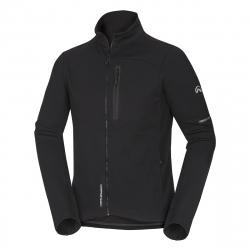Pánska turistická softshellová bunda NORTHFINDER-HEROLDY-black