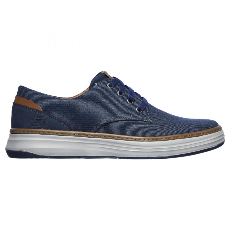 Pánska rekreačná obuv SKECHERS-MORENO EDERSON NVY -