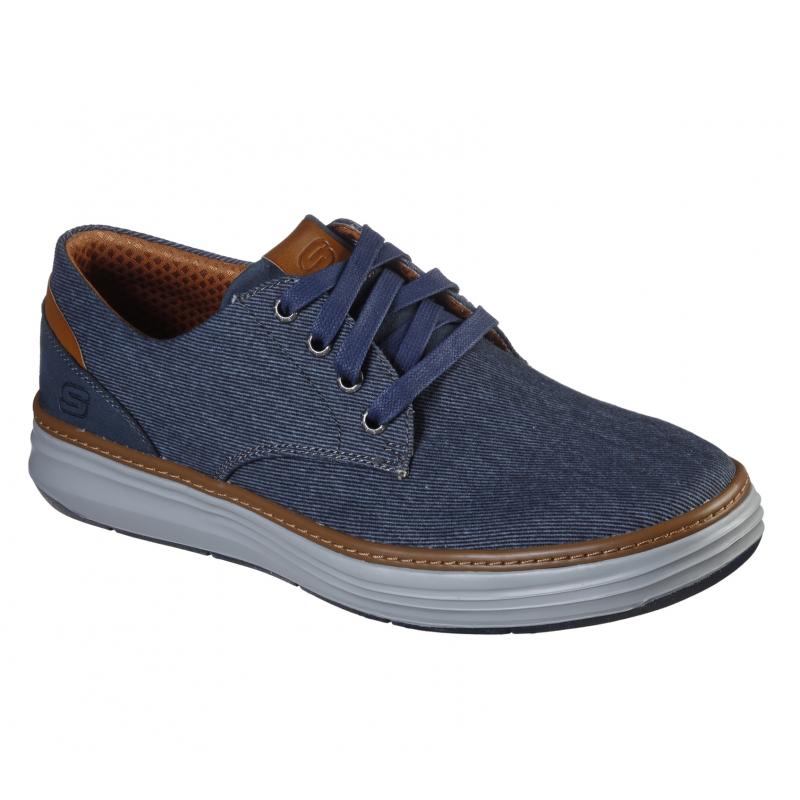 Pánská rekreační obuv SKECHERS-MORENO EDERSON NVY 41 Modrá