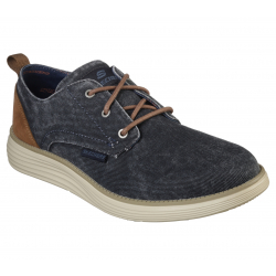 Pánská rekreační obuv SKECHERS-STATUS 2.0 PEXTON NVY (EX)