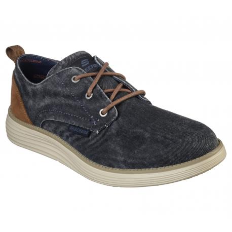 Pánska rekreačná obuv SKECHERS-STATUS 2.0 PEXTON NVY