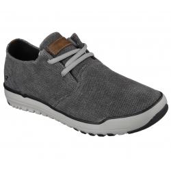 Pánska rekreačná obuv SKECHERS-OLDIS STOUND BKGY (EX)