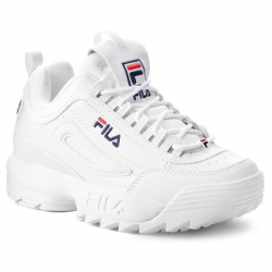 Dámska rekreačná obuv FILA-Disruptor P Low Wmn white (EX)