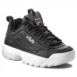 Dámská rekreační obuv FILA-disruptory Low black (EX)