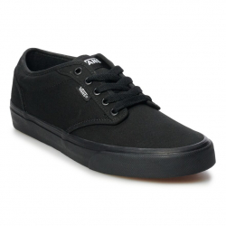 Pánska rekreačná obuv VANS-MN Atwood-(Canvas) Black/Black (EX)
