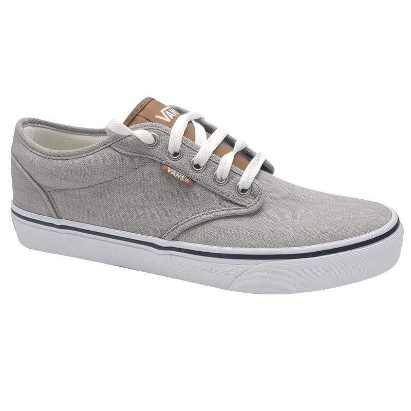 Pánska rekreačná obuv VANS-MN Atwood-(ENZYME WASH) DRIZZLE/WHT -