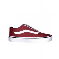 Pánska rekreačná obuv VANS-MN Ward-(CHECKER LACE)ROSEWOODWHT