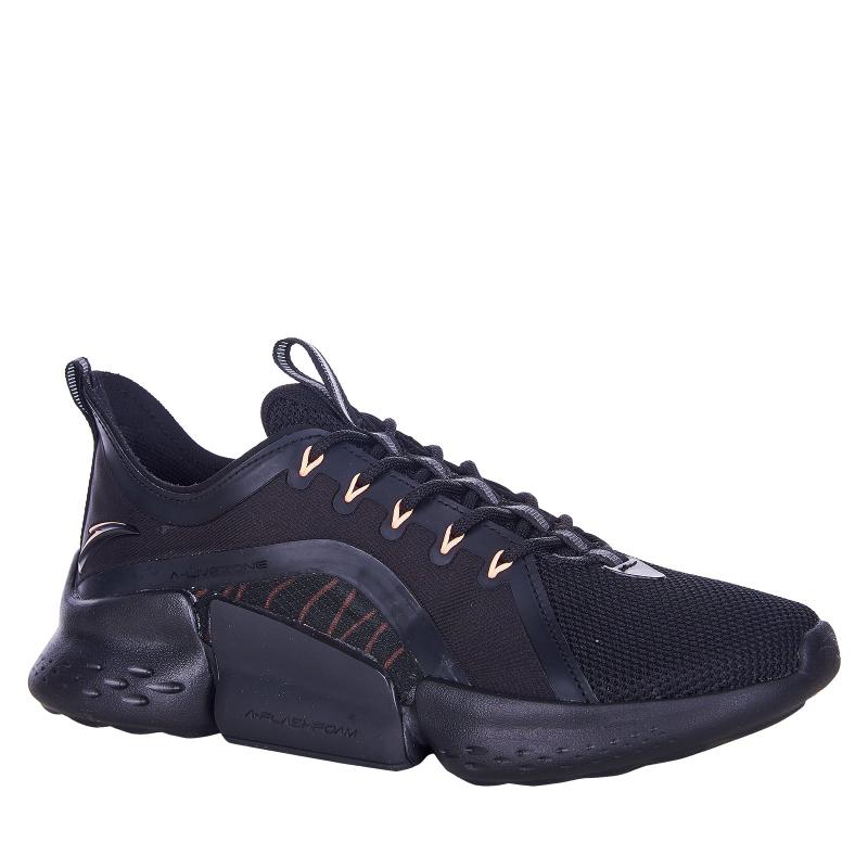 Dámska športová obuv (tréningová) ANTA-Atica black/orange -