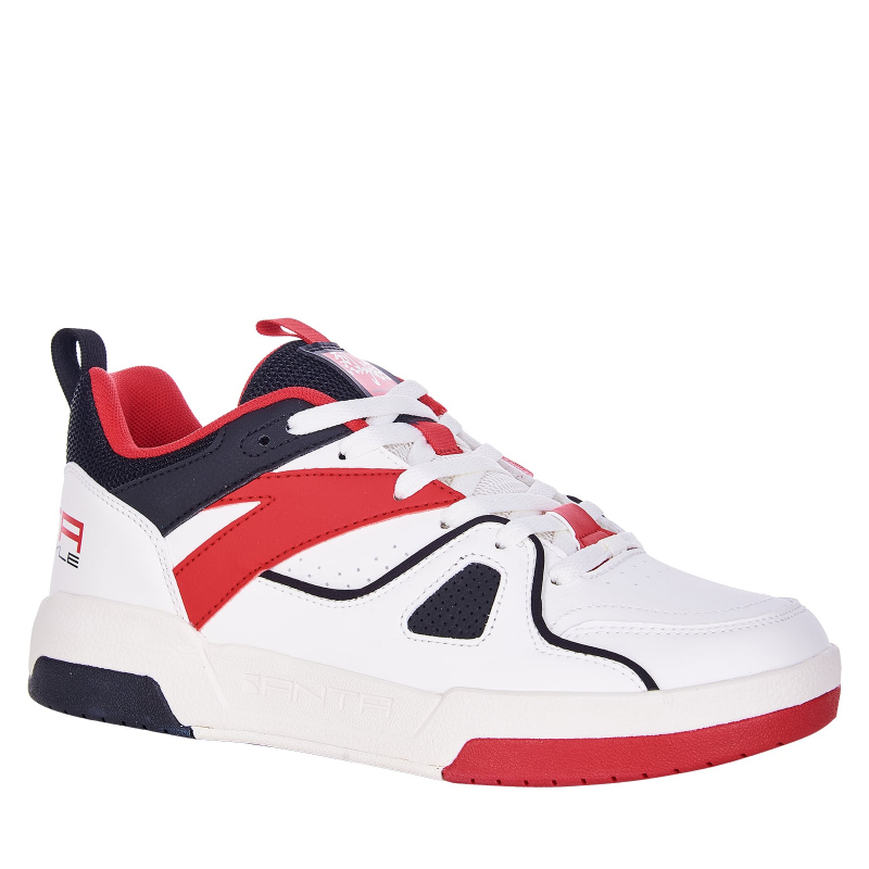 Pánska rekreačná obuv ANTA-Timboy white/red/black -