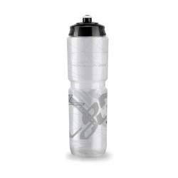 Cyklistická fľaša LONGUS-Fľaša TESA číra/čierna 25006