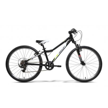 Juniorský bicykel AMULET-Team 24 Černý