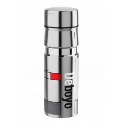 Cyklistická fľaša ELITE-Fľaša DEBOYO 500ml 12h nerez/vacuum strieborná