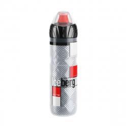 Cyklistická fľaša ELITE-Fľaša ICEBERG Termo, 650ml 2hod červená