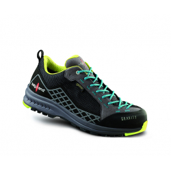 Turistická obuv nízká KAYLAND-GRAVITY GTX BLACK AZURE