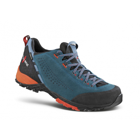 Pánska turistická obuv nízka KAYLAND-ALPHA GTX TEAL BLUE