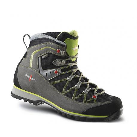 Pánská turistická obuv vysoká KAYLAND-PLUME MICRO GTX GREY LIME