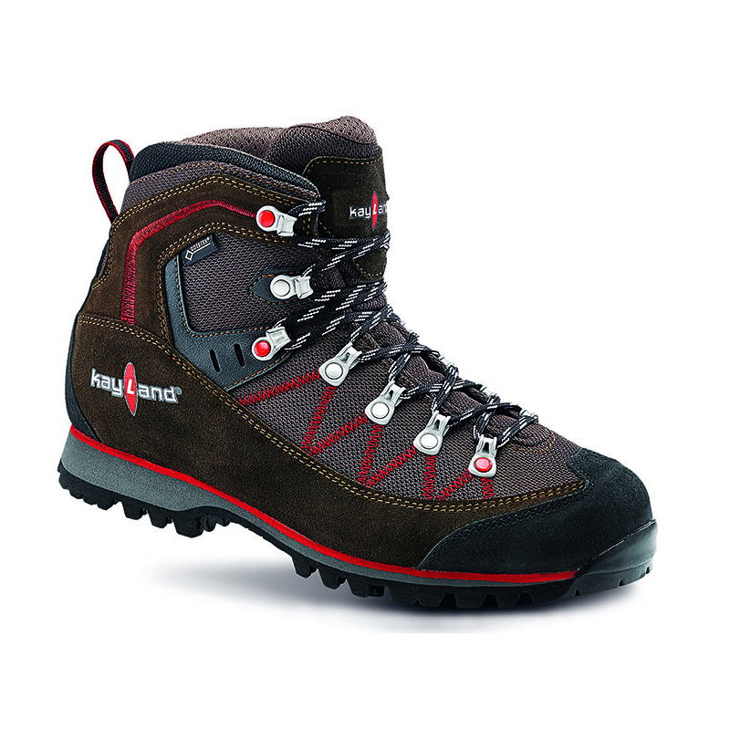 Pánska turistická obuv vysoká KAYLAND-PLUME MICRO GTX BROWN brown -
