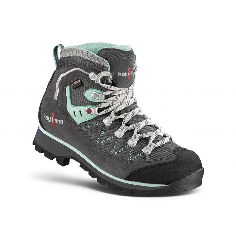 Dámska turistická obuv vysoká KAYLAND-PLUME MICRO WS GTX GREY GREEN -