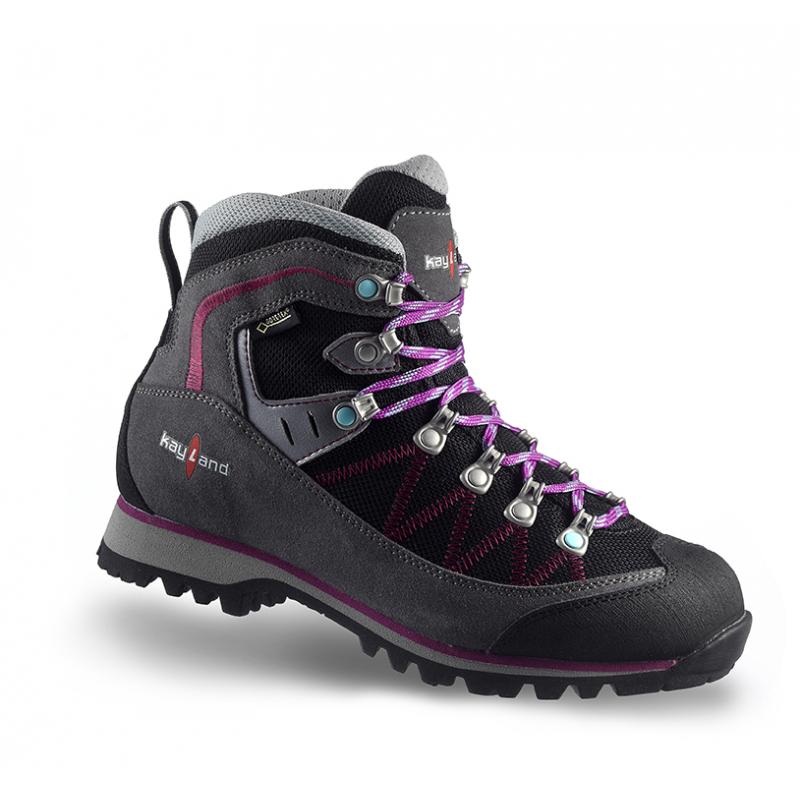 Dámska turistická obuv vysoká KAYLAND-PLUME MICRO WS GTX GREY grey -