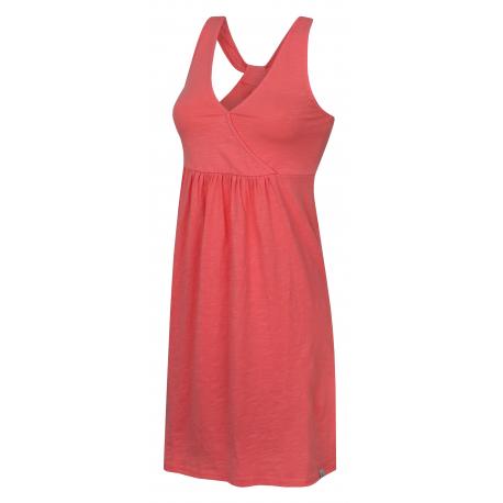 Dámské šaty HANNAH-RANA-salmon rose