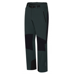 Pánské turistické kalhoty HANNAH-GARWYN-green Gables / anthracite
