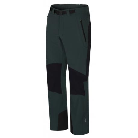 Pánske turistické nohavice HANNAH-GARWYN-green gables/anthracite