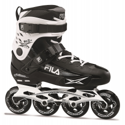 Fitness kolieskové korčule FILA SKATES-HOUDINI EVO BLACK/WHITE