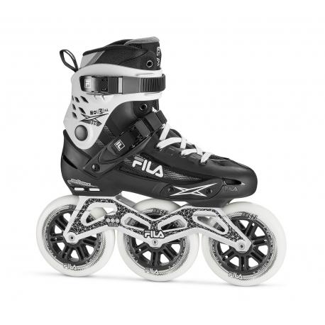 Fitness kolieskové korčule FILA SKATES-HOUDINI 125 BLACK/WHITE