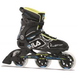 Fitness kolieskové korčule FILA SKATES-LEGACY PRO 100 BLACK/BLUE/LIME
