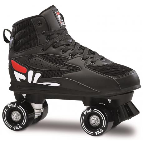 Juniorské 4-kolieskové korčule FILA SKATES-GIFT BLACK
