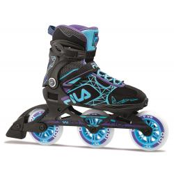 Dámske fitness kolieskové korčule FILA SKATES-LEGACY PRO 100 LADY BLK/LBL/VI
