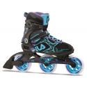 Dámske kolieskové korčule FILA SKATES-LEGACY PRO 100 LADY BLK/LBL/VI -