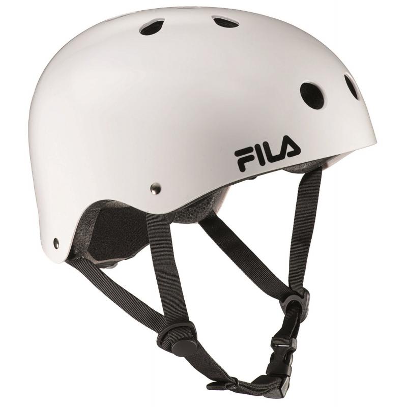 Prilba na korčuľovanie FILA SKATES-NRK FUN HELMET WHITE -