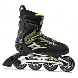 Fitness kolieskové korčule FILA SKATES-ARGON 84 BLACK/LIME