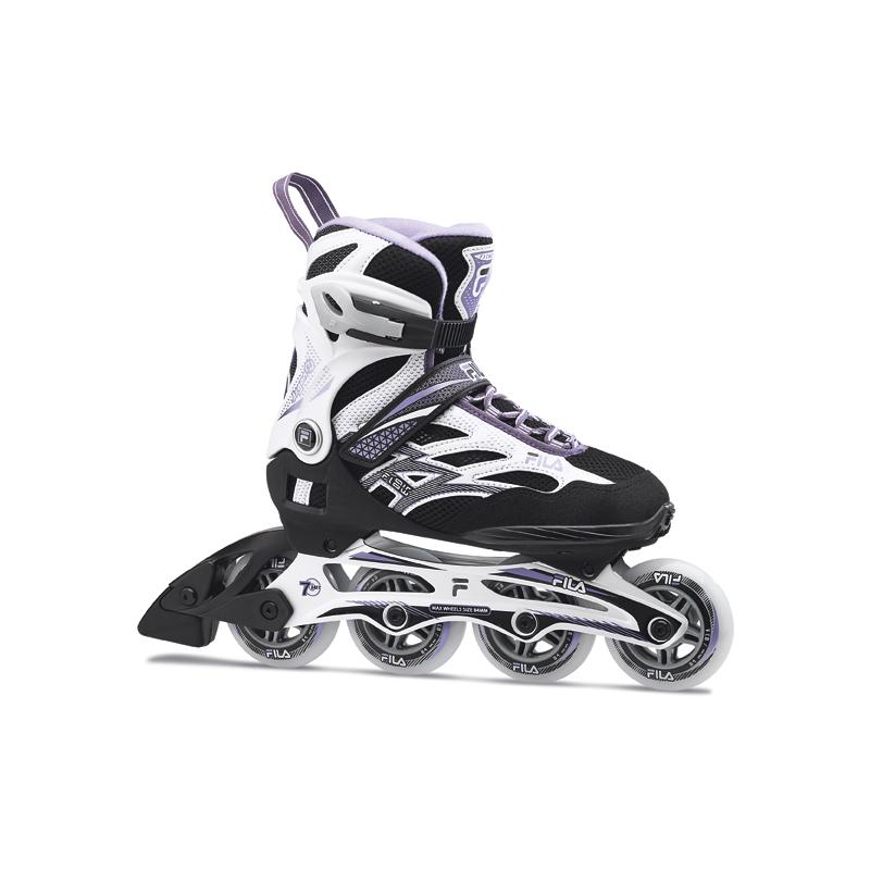 Dámske fitness kolieskové korčule FILA SKATES-ARGON 84 LADY BLK/WHITE/VIOLET -