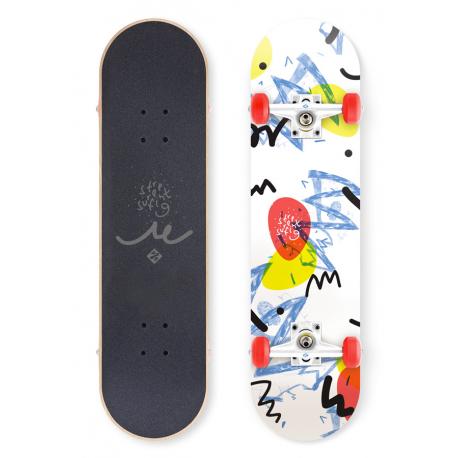 "Skateboard STREET SURFING-STREET SKATE 31 ""zapisovač na zeď 100 Kg 8+"