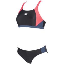Dámske dvojdielne plavecké plavky ARENA-W REN TWO PIECES Black