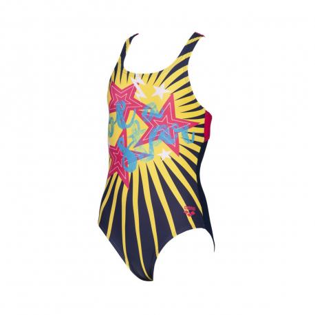Dievčenské plavecké jednodielne plavky ARENA-G VIBES JR SWIM PRO ONE PIECE L