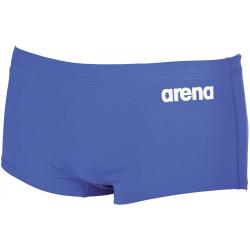 Pánske plavecké boxerky ARENA-M SOLID SQUARED SHORT Blue