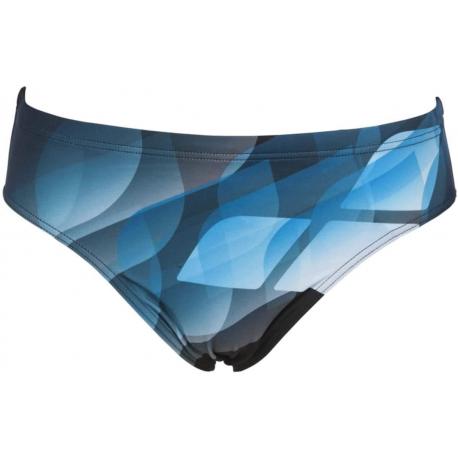 Pánske plavecké plavky ARENA-M MIRRORS BRIEF Black