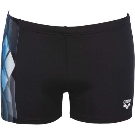 Pánske plavecké boxerky ARENA-M MIRRORS SHORT Black